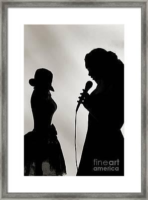 The Singer 1004.01 Framed Print by M K  Miller