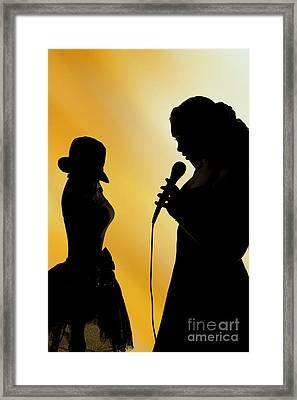 The Singer 1004.02 Framed Print by M K  Miller