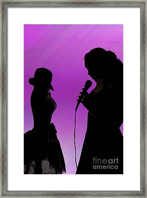 The Singer 1005.02 Framed Print by M K  Miller