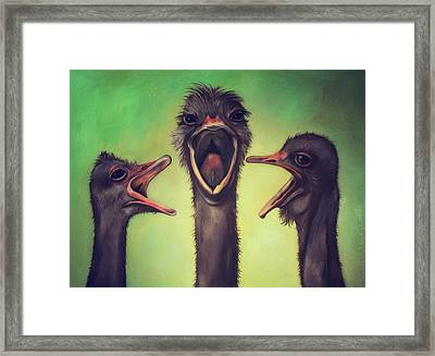The Singers Framed Print by Leah Saulnier The Painting Maniac
