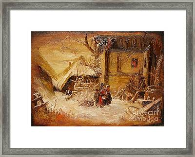 The Singers Framed Print by Sorin Apostolescu