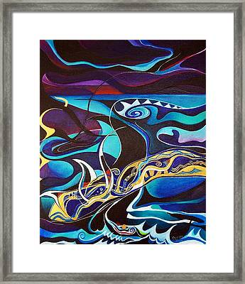 the singing of the Sirens Framed Print by Wolfgang Schweizer