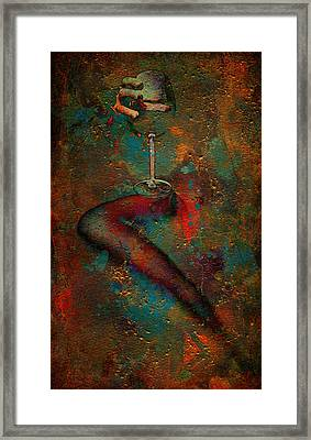 The Sipper Framed Print