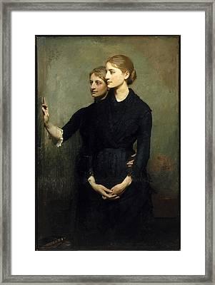 The Sisters Framed Print by Abbott Handerson Thayer