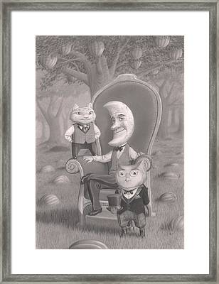 The Sitting Framed Print