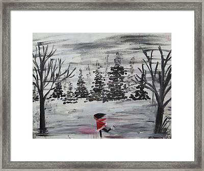 The Skater Framed Print