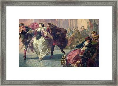 The Skaters Framed Print