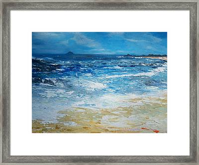 The Skellig Islands Framed Print by Conor Murphy
