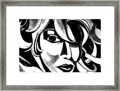 The Sketched Ai Framed Print
