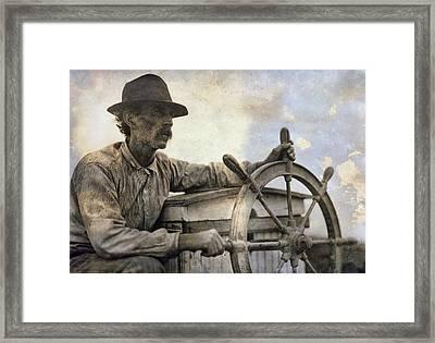 The Skipper  1911 Framed Print by Daniel Hagerman