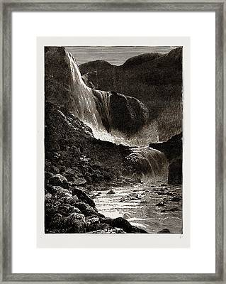 The Skjaeggedalsfos, Hardanger, Norway Framed Print by Litz Collection