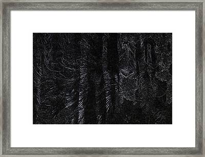 The Skull Staff Framed Print
