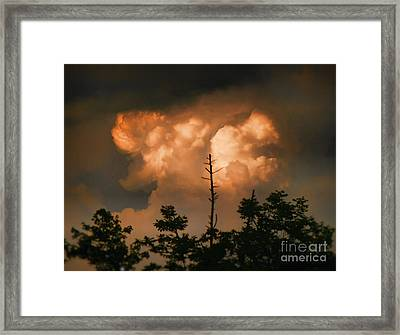 The Sky Above Framed Print