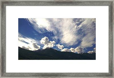 The Sky Framed Print by Giuseppe Epifani