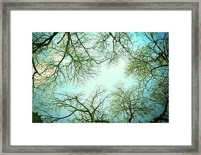 The Sky Framed Print by Guido Montanes Castillo