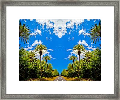 The Sky Has Eyes Framed Print by Scott Harms