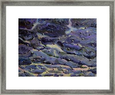 The Sky Is Crying Framed Print