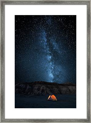 The Sky Is My Blanket Framed Print