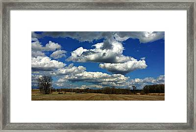 The Sky Is The Limit Framed Print by Joel Rams