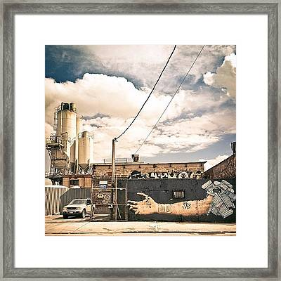 The Sky Was Incredible Today Framed Print