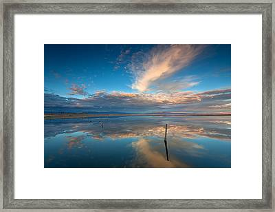 The Sky Whispered Framed Print by Peter Tellone