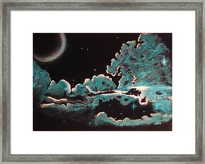 Framed Print featuring the drawing The Skys The Limit by Joseph Hawkins
