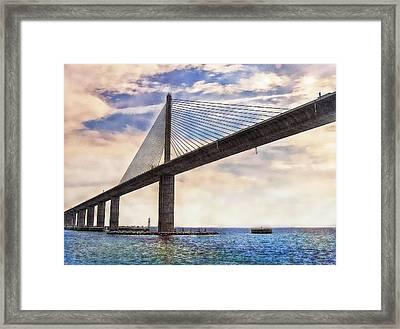 The Skyway Framed Print