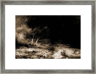 The Slave Ship, Turner Framed Print by Litz Collection