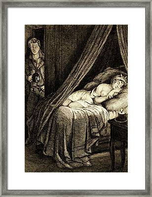 The Sleep' Framed Print by Collection Abecasis