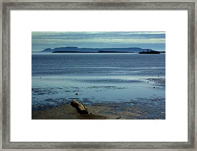 The Sleeping Giant At Low Tide Framed Print