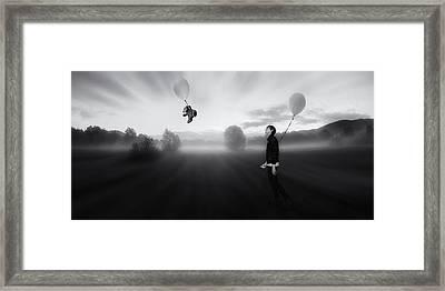 The Sleepwalking Dreamer Framed Print by Martin Smolak