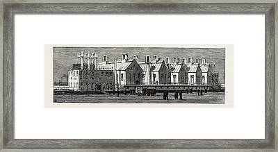 The Small-pox Epidemic And The Metropolitan Asylums Board Framed Print