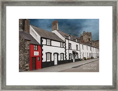 The Smallest House In Great Britain Framed Print