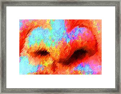 The Smell Of Color Framed Print