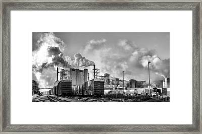 The Smell Of Jobs Framed Print