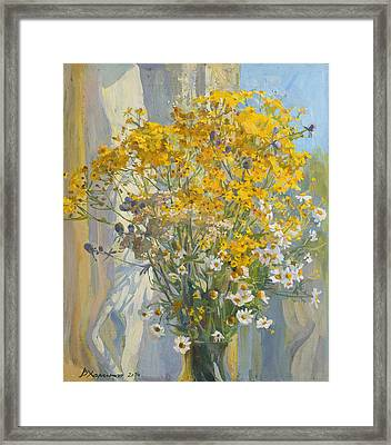 The Smell Of Summer Framed Print by Victoria Kharchenko
