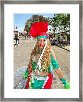 Framed Print featuring the photograph The Smile by Ed Weidman