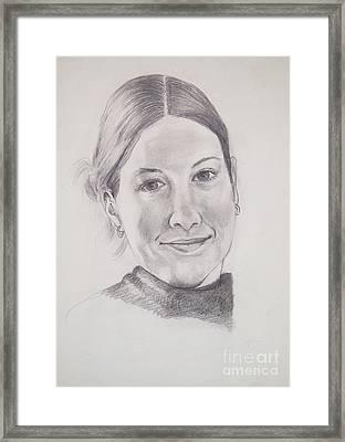 The Smile Framed Print by Nancy Kane Chapman