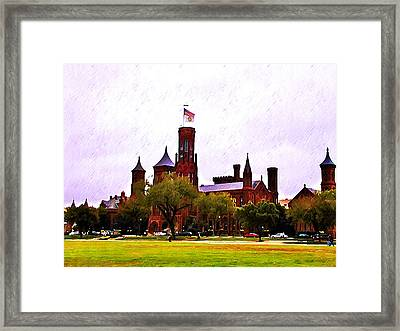 The Smithsonian Framed Print by Bill Cannon