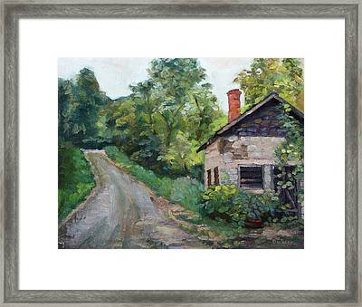 The Smokehouse Framed Print