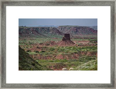 The Smokestack Framed Print by Jim McCain