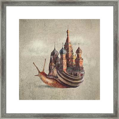 The Snail's Daydream Framed Print by Eric Fan