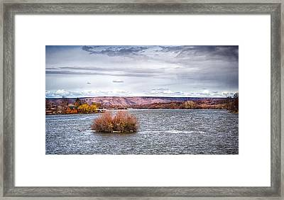The Snake River Near Hagerman Idaho Framed Print
