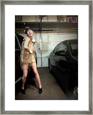 The Sneaky Dress 3 Framed Print