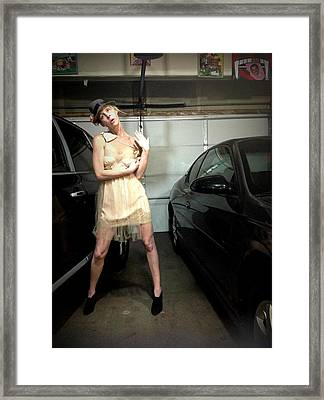 The Sneaky Dress 4 Framed Print