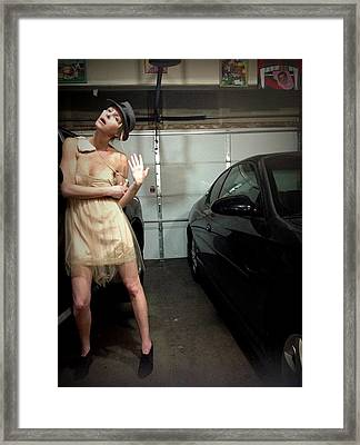 The Sneaky Dress 5 Framed Print