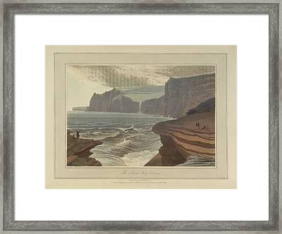 The Snook At Hoy On Orkney Framed Print by British Library