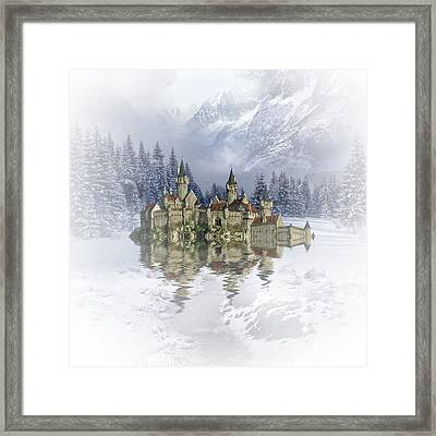 The Snow Palace Framed Print by Sharon Lisa Clarke