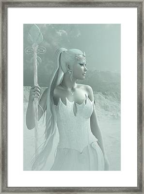 The Snow Queen Framed Print by Melissa Krauss
