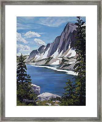 The Snowy Range Framed Print